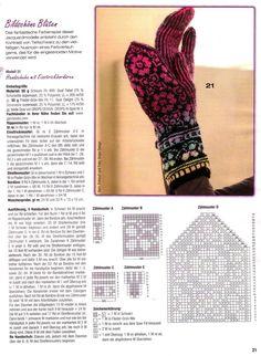 Stranded Nordic Mittens knitting pattern