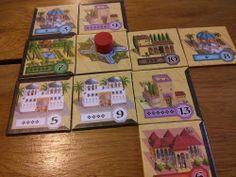 Alhambra board game tiles #boardgame #boardgames #games #spiel #boardgamegeek #bgg #tabletop #alhambra #queengames