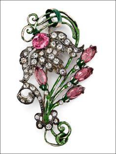 Staret Floral Pin Brooch