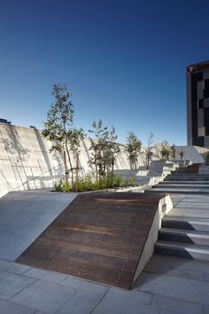 717 Bourke Street Plaza. by ASPECT Studios in 717 Bourke Street, Docklands, Melbourne, Victoria, Australia.