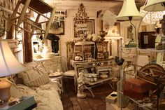 Shabby chic shop i want a shop like this