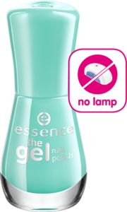 the gel nail polish 40 play with my mint - essence cosmetics