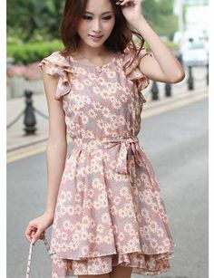 1ae8a35cd6 Summer design girl short sleeve ladies new sweet princess fashion woman  flower dress