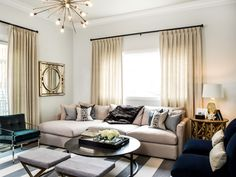 Brynn Olson Design Group - Bucktown Residence Family Room, Photography by Cynthia Lynn Photography