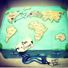 Bon voyage  - Cake by Dorje Desserts