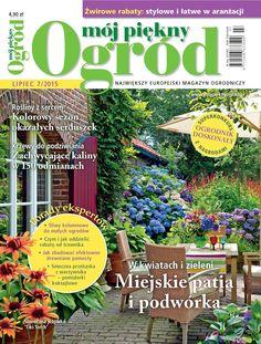 Mój Piękny Ogród - lipiec 2015 - okładki