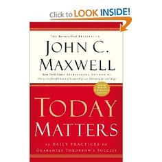 just ordered it to read upon suggestion.  Love John C. Maxwell books