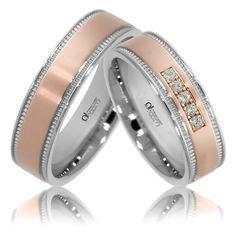 Verighete ATCOM Lux ZENOVIA aur roz Wedding Rings, Engagement Rings, Memories, Jewelry, Diamond, Lush, Enagement Rings, Memoirs, Souvenirs