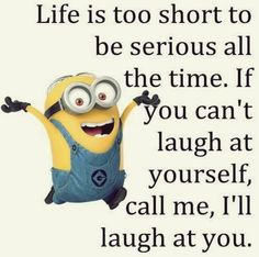 Funny Minion quotes gallery (07:37:33 AM, Saturday 20, June 2015 PDT) – 10 pics…