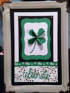 St. Patrick's Day display board