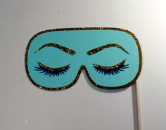 Breakfast at Tiffany's Collection - Inspired Holly Golightly Inspired Sleep Mask Photo Booth Prop on Etsy, $15.00