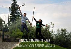 Mawson & Leah 04-06-2013 jump for Forestaria farm - Lucca - Tuscany