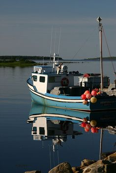 Ready for Lobstering - Voglers Cove, N. I used to work at R. Newell fish plant there, just down the road from East Port Medway, Nova Scotia Nautical Logo, Monster Fishing, Beach Scenery, Atlantic Canada, Old Boats, Visit Canada, Boat Painting, Newfoundland And Labrador, Prince Edward Island