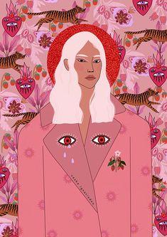 Love Illustration, Graphic Design Illustration, Digital Illustration, Artist Pencils, Indie Art, Pastel, Art Inspo, Fine Art Prints, Drawings