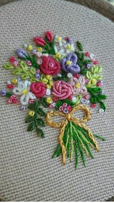 Ribbon Embroidery Designs for Beginners . 52 Elegant Ribbon Embroidery Designs for Beginners . Brazilian Embroidery Stitches, Crewel Embroidery Kits, Hand Embroidery Tutorial, Hardanger Embroidery, Learn Embroidery, Silk Ribbon Embroidery, Embroidery For Beginners, Hand Embroidery Patterns, Embroidery Techniques