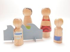 { beach peg dolls } by meghan