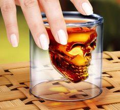 Fancy - Doomed Crystal Skull Shot Glass
