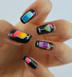 Vicky Loves Nails: Cocktail Nails