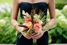 Bowers Harbor Estates Organic Destination Wedding  Read more - http://www.stylemepretty.com/little-black-book-blog/2014/01/28/bowers-harbor-estates-organic-destination-wedding/