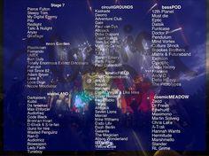 EDC Las Vegas lineup #EDCLV #EDC #DJ #Festival #PLUR #Techno #Hardstyle #House #DeepHouse #Trap  #EDM by electric_dust