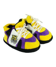 Another great find on #zulily! Louisiana State Tigers Tiny Slipper - Infant #zulilyfinds