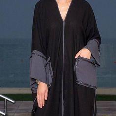 Repost with ・・・ New pieces for Eid. Muslim Dress, Hijab Dress, Islamic Fashion, Muslim Fashion, Abaya Fashion, Fashion Outfits, Womens Fashion, Modern Abaya, Modele Hijab