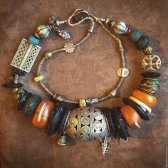 Witch Jewelry, Punk Jewelry, Ethnic Jewelry, Moon Jewelry, Bohemian Jewelry, Beaded Jewelry, Jewelry Necklaces, Jewellery, Moroccan Jewelry