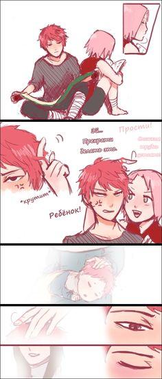Naruto - Sasori and Sakura