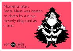 The real reason Santa isn't coming this year.