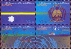 Nauru 1980 Air Nauru Set Fine Mint SG 220/3 Scott 39/47 Other Nauru Stamps HERE