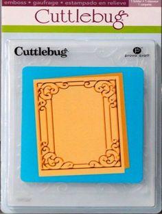 Provo Craft Cuttlebug Tiffany Embossing Folder