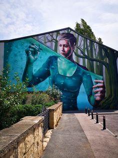 art street bucharest Bucharest, Verona, Graffiti, Street Art, Places To Visit, Europe, Murals, Color, Urban Art