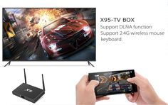 Upgrade your TV with the OTT TV X95 Android TV Box, coming with 4K output, 3D support and pre-installed Kodi