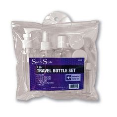 Soft 'N Style 7 Pc. Travel Bottle Set