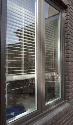 Vinyl Window Casement Exterior Commercial Brown Cladding Interior