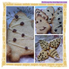 galletas-hechas-por-ninos Cookies, Desserts, Food, Infant Crafts, Easy Crafts, Christmas Cookies, Daughters, Celebrations, Crack Crackers