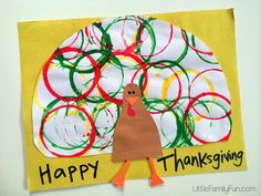 Thanksgiving Turkey Painting