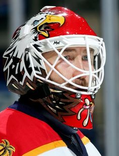 Ed Belfour w/ the Florida Panthers