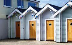 Beach hut in Shaldon, Devon