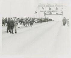 Alabama civil rights movement: Selma to Montgomery march, halted at the Edmund Pettus bridge (Tuesday, March 9, 1965) | Flickr - Photo Sharing!