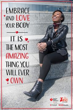 Your dress size doesn't define you. And it certainly doesn't define your heart health. American Heart Association, Go Red, Heartfelt Quotes, Health Promotion, Joy And Happiness, Loving Your Body, Heart Health, Inspirational Message, Health Quotes