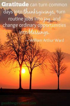 William Arthur Ward quote.