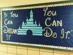 MIOSM 2016 theme: Disney. Elementary music bulletin board