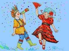 carnaval in de wereld van wiepje