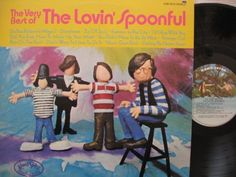 """LOVIN' SPOONFUL ~ 1970 """"The Very Best of...""""  commercial stock vinyl album (Kama Sutra KSBS 2013) in NEAR-MINT CONDITION (no marks, no scratches, no finger prints).  Contains 12 great tracks, which is all their hits, and more.  ($24.99)  Amazon.com / eBay.com / Etsy.com"""