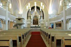 Kauhava Lutheran Church inside.
