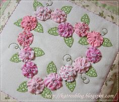 Môj ružový vesmír...: ♥ Srdiečkovanie ♥   For heart pattern to follow and crotchet idea instead of material using