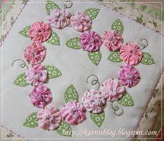 Môj ružový vesmír...: ♥ Srdiečkovanie ♥   For heart pattern to follow and crotchet idea instead of material using
