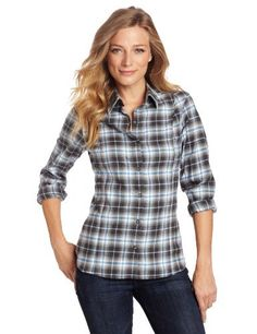 Pendleton Women's Flannel weather Shirt, Grey/Blue Ombre Plaid, Large Pendleton. $36.74. Machine Wash. Made in China. 100% cotton. 26 inch length. Yoke lined