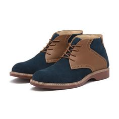 "<span style=""color:#999999;""><span style=""font-size:12px; letter-spacing:.05em; line-height:150%;"">Our bestselling chukka boot, updated with saddle shoe styling. This suede chukka boot has leather side panels and four-hole lacing.</span>"